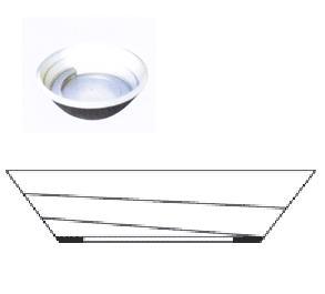 圆锥形振动盘