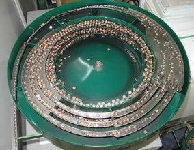 vibratory bowl feeder for nuts