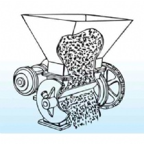 What is a rotary feeder?