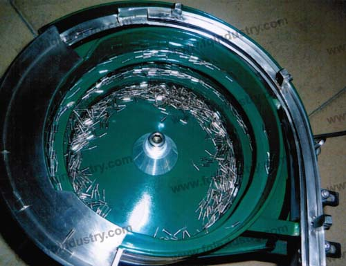 bowl feeder for electronic components
